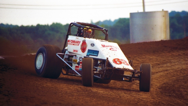 #63 Jack Hewitt during the 1996 USAC Sprint Car season.