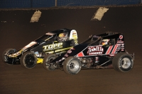 "#9K Kevin Thomas, Jr. - 3rd in USAC AMSOIL National Sprint Car points & 23c Tyler Courtney (4th) enter this weekend's Nov. 9-10-11 ""Oval Nationals"" still with a chance to win to win the title."