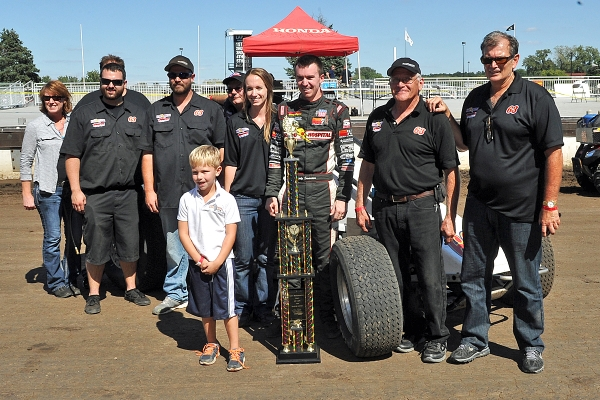"SWANSON TAKES ""TONY BETTENHAUSEN 100"" AT SPRINGFIELD"