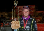 STOCKON REELS OFF 2ND STRAIGHT USAC WIN ON NIGHT 1 OF OVAL NATIONALS