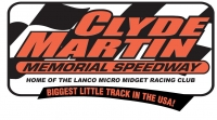 PENNSYLVANIA MIDGET WEEK DATE GOES TO LANCO'S CLYDE MARTIN MEMORIAL SPEEDWAY
