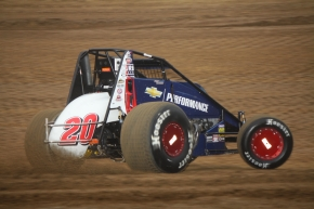 Bryan Clauson won seven AMSOIL National Sprint Car features in 2013 on his way to the championship.