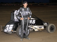 Bryan Clauson wins Night 2 of the Gold Crown Midget Nationals.