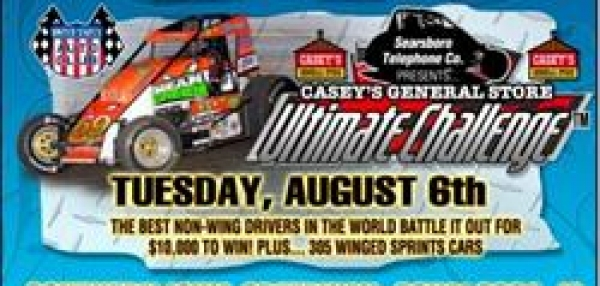 "CASEY'S ""ULTIMATE CHALLENGE"" AT OSKY TUESDAY"