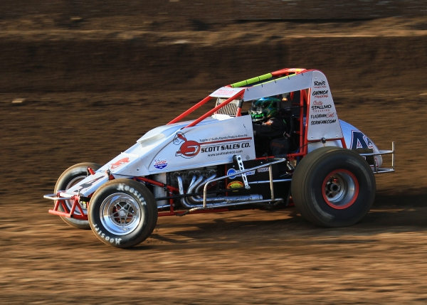 "The ""Demon"" Damion Gardner leads the CRA Sprints."