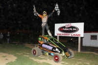 Shane Morgan wins at Spoon River.