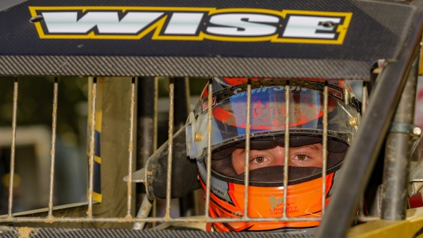 #39BC Zeb Wise, a three-time USAC NOS Energy Drink National Midget feature winner, is entered to compete in the Sept. 4-5 Driven2SaveLives BC39 powered by NOS Energy Drink at The Dirt Track at IMS.