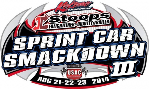 "3RD ""SPRINT CAR SMACKDOWN"" ON TAP AT KOKOMO"