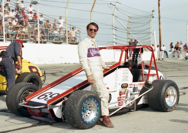 1989 USAC National Sprint Car champion Rich Vogler of Indianapolis, Indiana