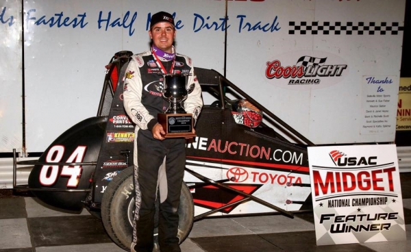 "Chad Boat wins the ""Belleville Midget Nationals."""
