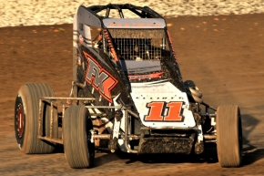 #11E Cory Elliott – 2nd in USAC Western Midget Point Standings.