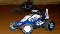 #20 Carson Short battles #19AZ C.J. Leary at Port Royal.