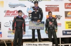 Perris Podium. Ryan Bernal (2nd), Danny Sheridan (Winner), and Damion Gardner (3rd).