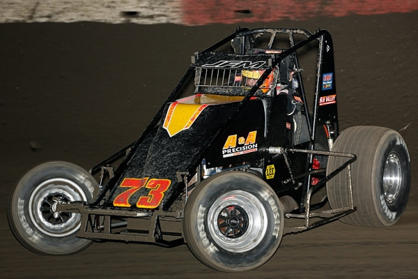 Ryan Bernal leads the USAC West Coast Sprint points.
