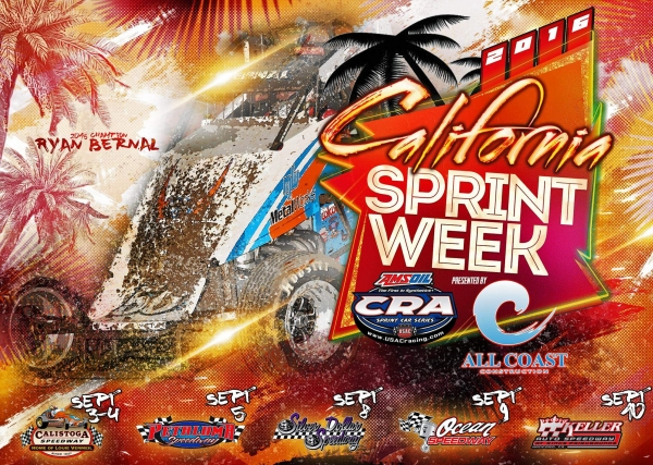 2016 CALIFORNIA SPRINT WEEK POINT UPDATE