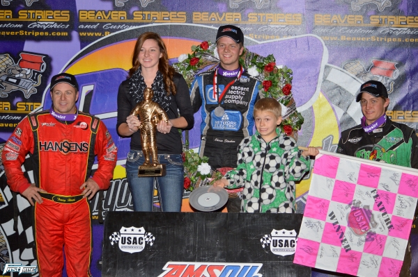 "Chase Stockon won Saturday's ""Hall of Fame Classic"" over Tracy Hines & Justin Grant."