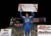 WINDOM ENDS DROUGHT WITH POSTPONED KOKOMO FEATURE WIN