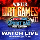 WINTER DIRT GAMES VII TO STREAM LIVE ON SPEEDSHIFT TV; LOUDPEDAL.TV SUBSCRIBERS TO RECEIVE SPECIAL DISCOUNT