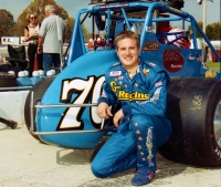 2001 USAC National Sprint Car champion J.J. Yeley of Phoenix, Arizona