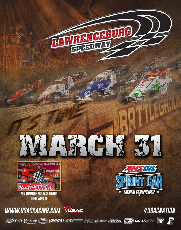 LAWRENCEBURG USAC SPRINT RACE CANCELLED