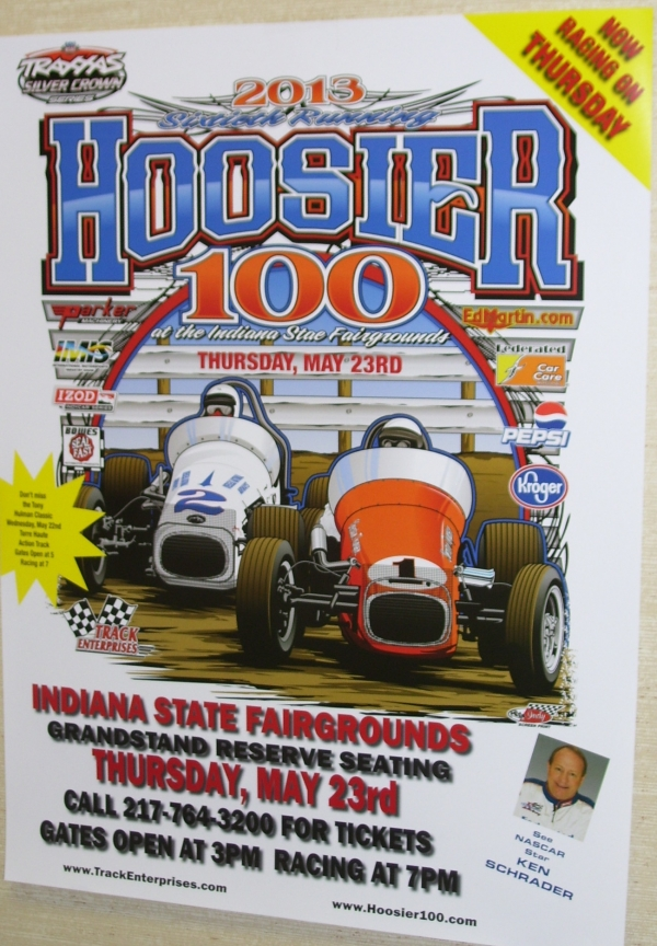 HOOSIER HUNDRED MAY INCLUDE 2 FEMALES!