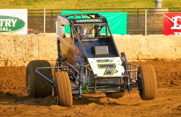 "Tyler Courtney captured his third USAC National Midget victory of the season in Monday night's inaugural Adam Lopez ""Illinois Midget Nationals"" at the Illinois State Fairgrounds Multi-Purpose Arena in Springfield."