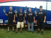 "Bryan Clauson and his Tony Stewart/Curb-Agajanjan Racing crew are ""Indiana Sprintweek"" champions."