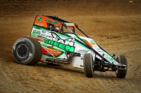Kevin Thomas, Jr. won the USAC AMSOIL National Sprint Cars' most recent appearance at Plymouth (Ind.) Speedway this past May.