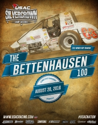 "37 CARS ENTERED FOR SATURDAY'S ""BETTENHAUSEN 100"" AT SPRINGFIELD"