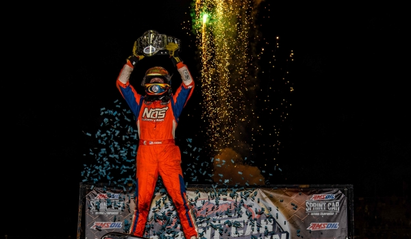 Tyler Courtney (Indianapolis, Ind.) became a two-time Sprint Car Smackdown winner Saturday night at Kokomo Speedway.