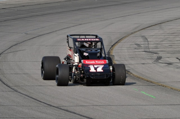 Bobby Santos swept two Traxxas Silver Crown races in 2012 at Lucas Oil Raceway.