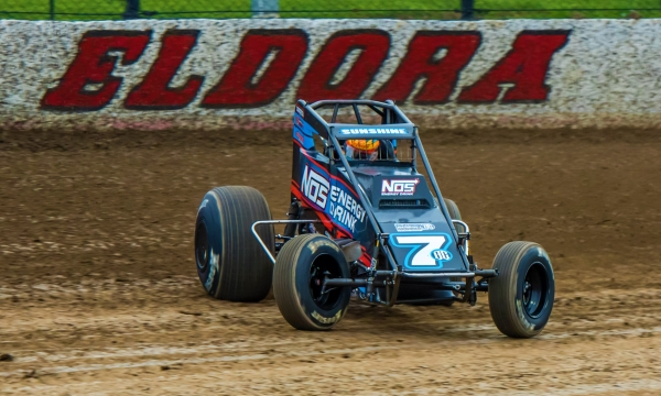 Tyler Courtney captured a convincing win Friday night at Eldora Speedway's #LetsRaceTwo.