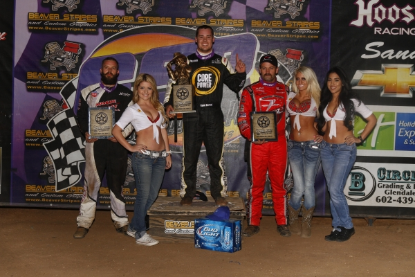 "BERNAL GOES BACK-TO-BACK IN ""WESTERN WORLD"" SPRINT CAR PRELIMS"