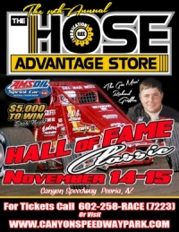 "SPRINTS CLOSE WITH 14TH ""HALL OF FAME CLASSIC"" AT PEORIA"