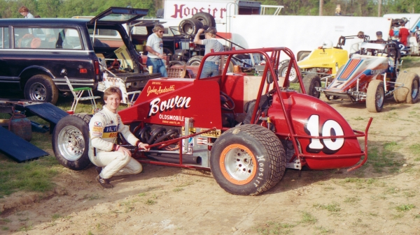 JOHN ANDRETTI, USAC MIDGET WINNER AND REGIONAL CHAMP, PASSES AT 56