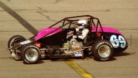1993 USAC Silver Crown champion Mike Bliss.
