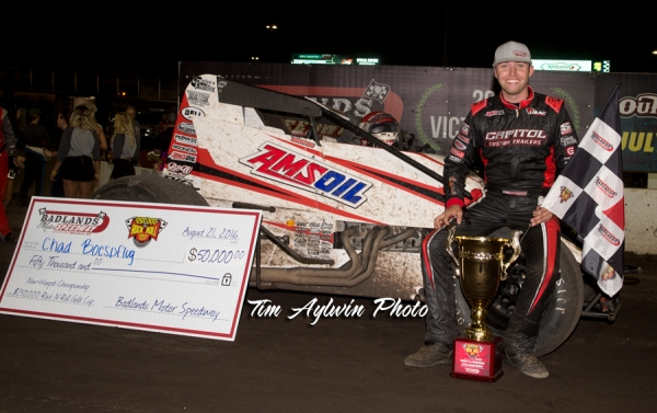 BOESPFLUG FINISHES DREAM WEEKEND WITH 50K PAYDAY AT BADLANDS' ROCK AND ROLL GOLD CUP