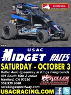 WESTERN MIDGETS AT KELLER AUTO SPEEDWAY AT KINGS SATURDAY