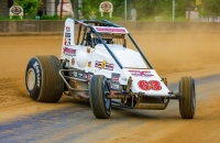 Kody Swanson aims to join Al Unser as the second-driver to win four-straight Hoosier Hundreds on Thursday night, May 25th at the Indiana State Fairgrounds in Indianapolis.