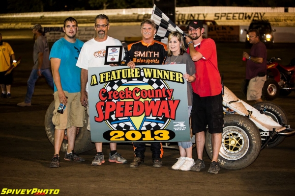 Danny Smith wins at Sapulpa.