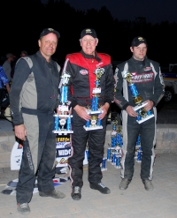 Ray Miller is joined by fellow podium finishers Scott Viets and Kevin Chaffee...