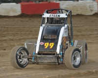 USAC Midwest Thunder Midget point leader Gage Etgen.