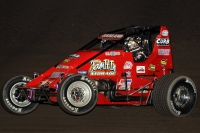 "Dave Darland won the ""Western World Championships"" in 2005 at Manzanita Speedway. He currently sits third in USAC AMSOIL National Sprint Car points coming into this weekend's races."
