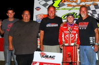 "KEVIN THOMAS, JR. HOLDS ON FOR ""CHAD McDANIEL MEMORIAL"" WIN"