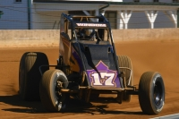 #17 Chris Windom - 3rd in USAC Silver Crown points