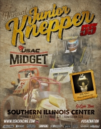 JUNIOR KNEPPER 55 USAC MIDGET RACE SET FOR DU QUOIN'S SOUTHERN ILLINOIS CENTER ON DEC. 17