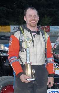 Joe Krawiec is the 2013 USAC DMA Champ.