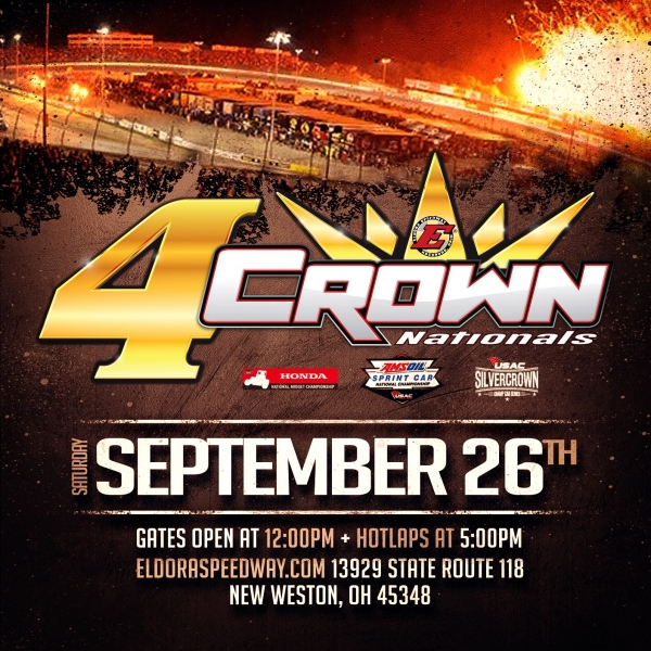 """4-CROWN"" SPRINT SATURDAY AT ELDORA"