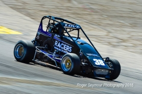 USAC Western HPD Midget overall point leader Jesse Love IV.