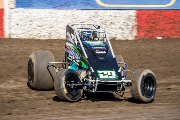USAC West Coast Sprint Car Series top rookie Ryan Timmons.